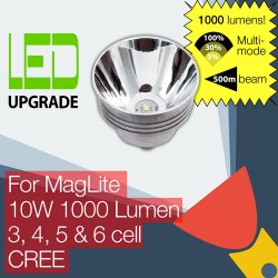MagLite LED Conversion/upgrade bulb 1000LM High Power for MagLite Torch/flashlight 3D 4D 5D 6D Cell CREE