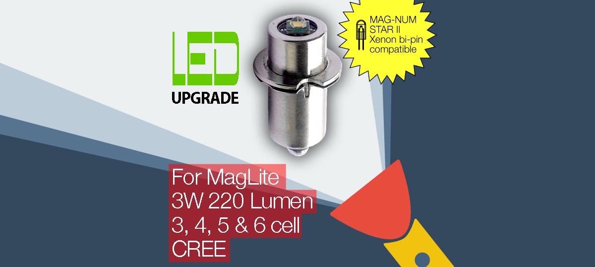 maglite led upgrade and petzl led upgrade bulbs and. Black Bedroom Furniture Sets. Home Design Ideas
